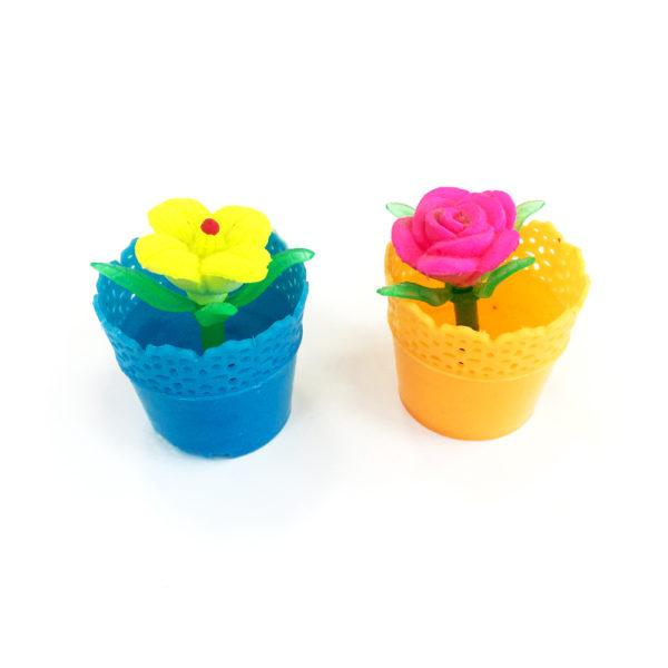 Растущие игрушки «Цветы в горшке» оптом