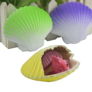 Растущие игрушки «Раковина с русалочкой» оптом