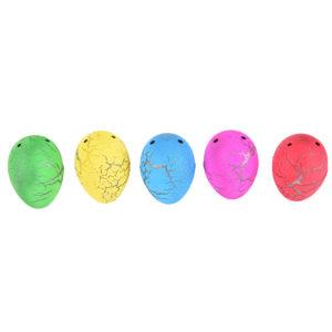 Растущие животные в яйце с цветным напылением (мини) оптом