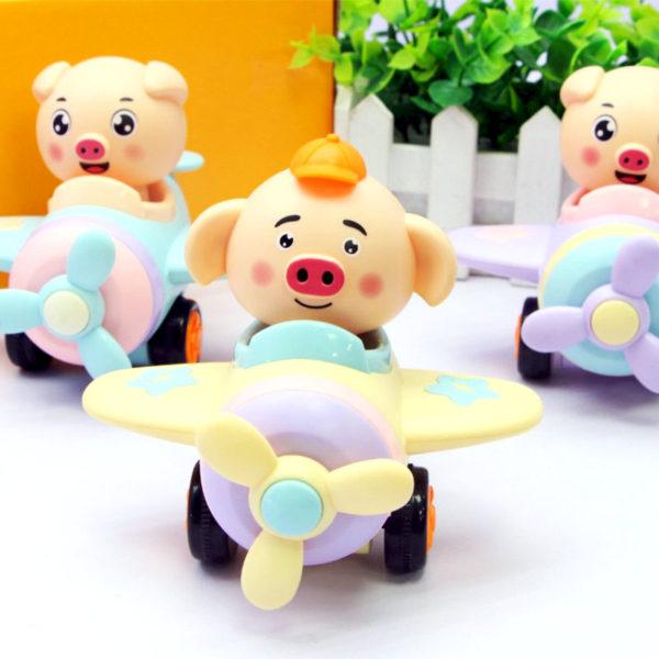 Заводная игрушка «Поросёнок» оптом