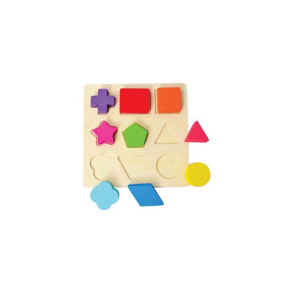 Рамка-вкладыш «Геометрические фигуры» оптом