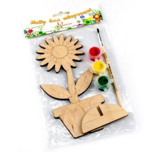 Деревянная игрушка раскраска оптом