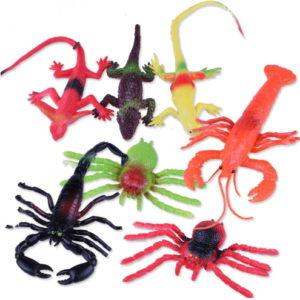 Резиновые игрушки «подводный мир» оптом