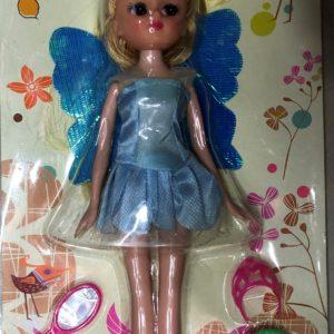 Детская кукла в платье с аксессуарами (5 предмета) оптом