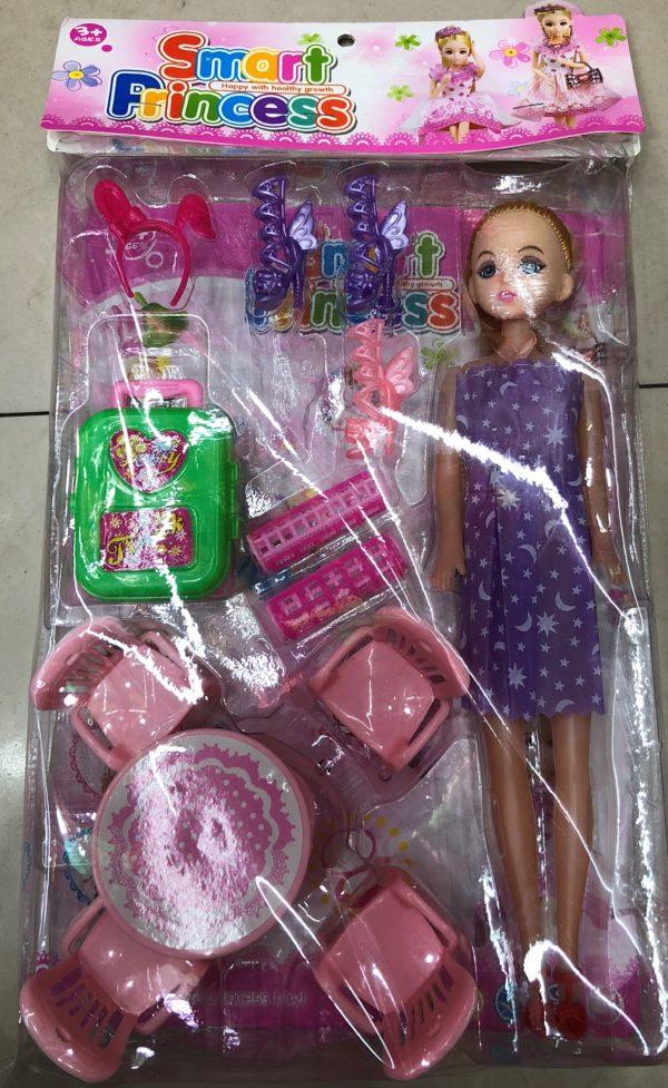 Кукла с мебелью «Кухня» (13 предметов) оптом