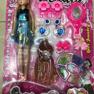 Кукла «Юная модница» (10 предметов) оптом