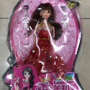 Кукла «Модель в вечернем платье» (3 предмета) оптом