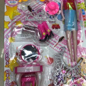 Кукольный набор «Кукла модница» (8 предметов) оптом