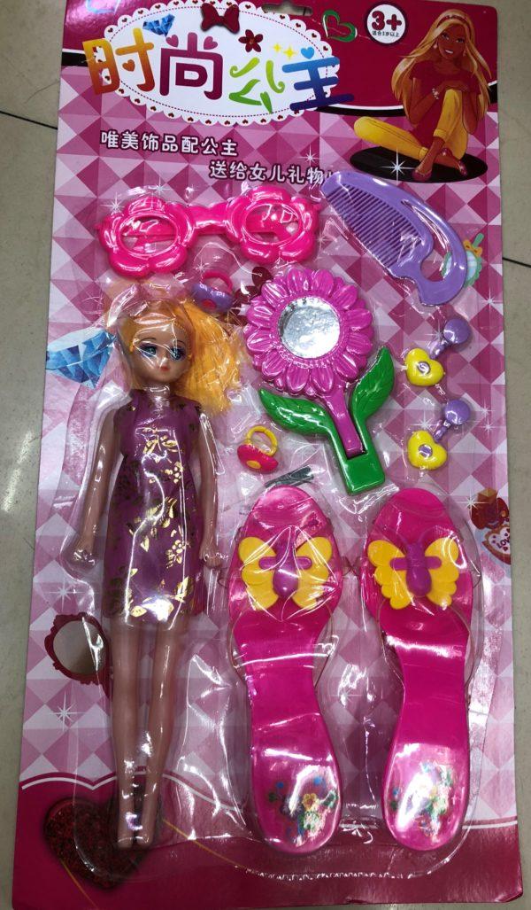 Кукла «Летний образ» (10 предметов) оптом