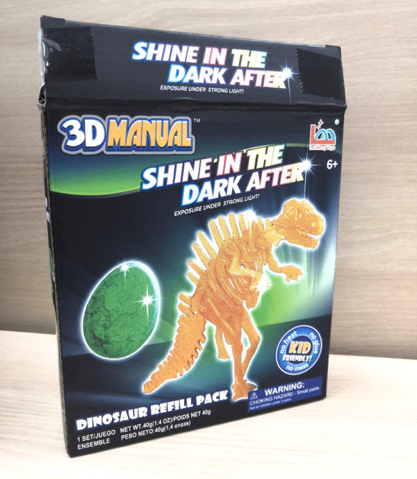 3D ручка Manual «Динозавр» оптом