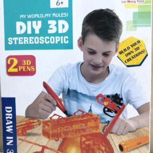Набор Diy 3D Stereoscopic (2 ручки) оптом