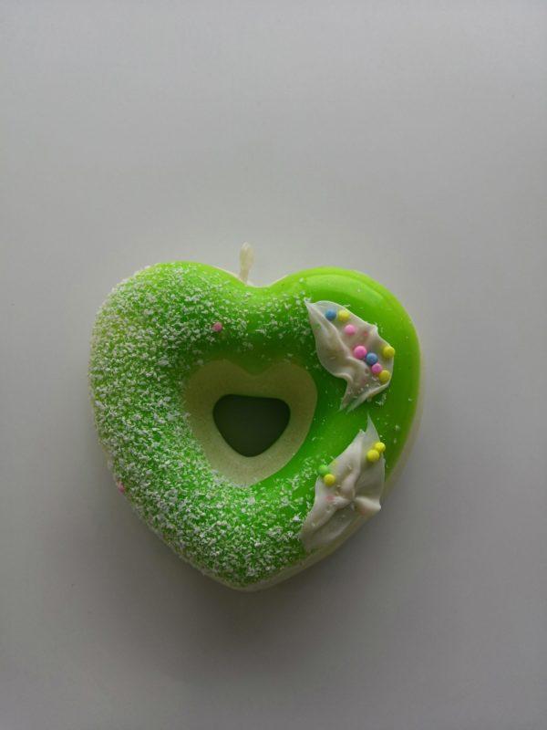 Сквиш «Пончик сердце» оптом