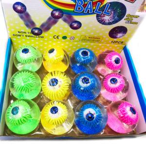 Игрушка-шар «Глаз»  со светящимся элементом оптом
