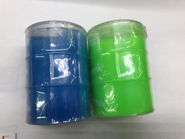 Слайм-лизун «Цветной  бочонок» под заказ из Китая