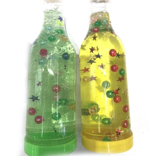 Слайм  «Звёздочки» в бутылке оптом