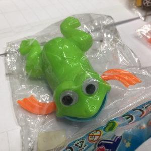 Заводная игрушка «Лягушка» оптом