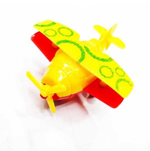 Машинка «Жёлтый кукурузник» оптом