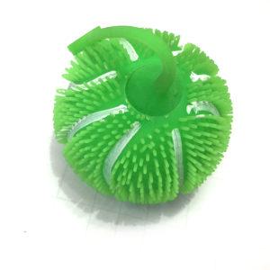 Резиновая игрушка «Мяч» со светящимся шариком внутри оптом