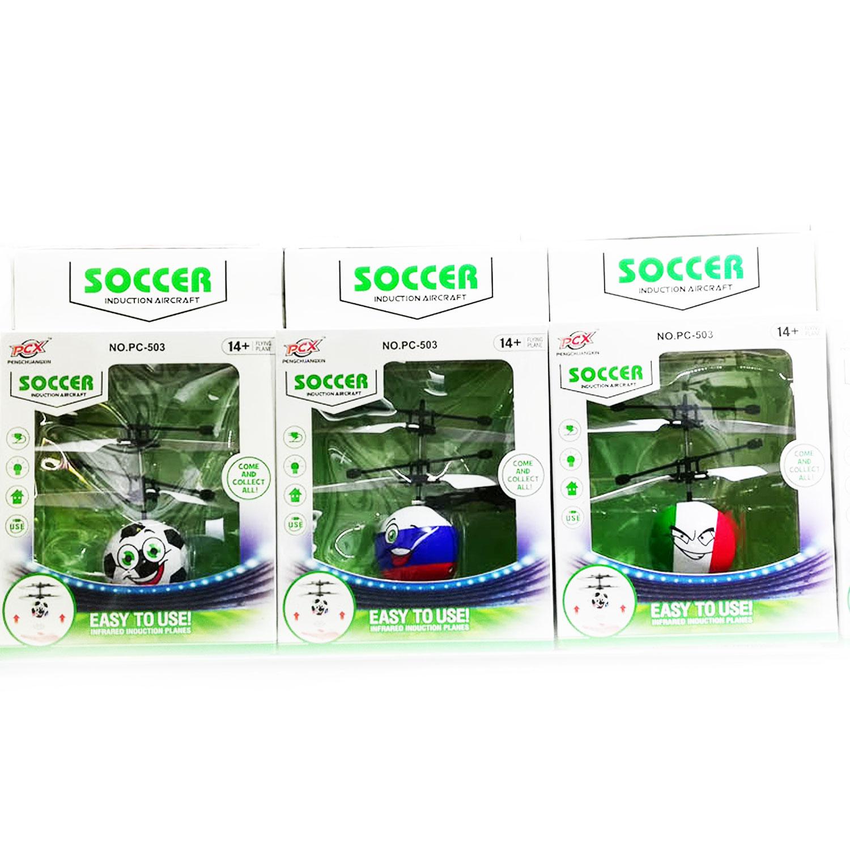 Летающий светящийся шар «Мяч Soccer» оптом