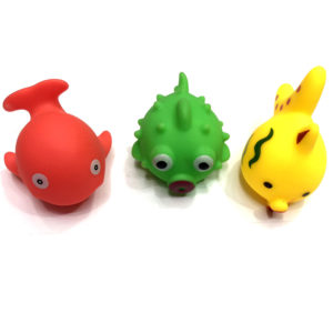 Игрушка резиновая «Рыбка» оптом