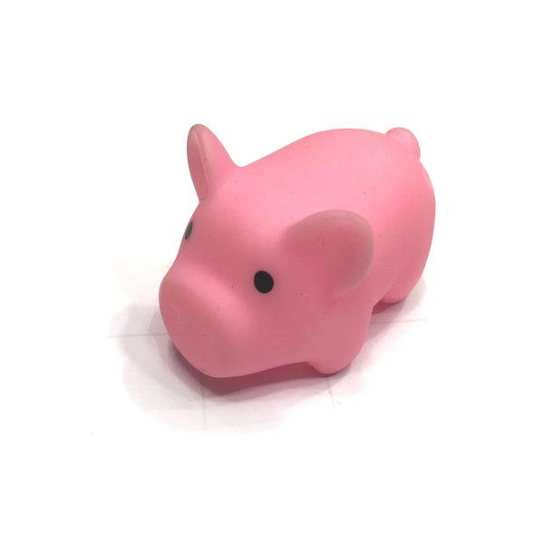 Игрушка резиновая пищащая «Свинка» оптом