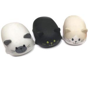 Игрушка резиновая пищащая «Котята» оптом