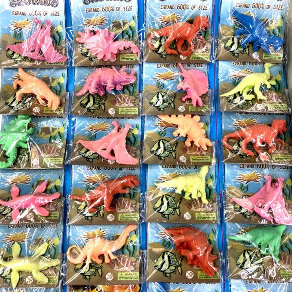 Игрушка резиновая «Динозавр» оптом