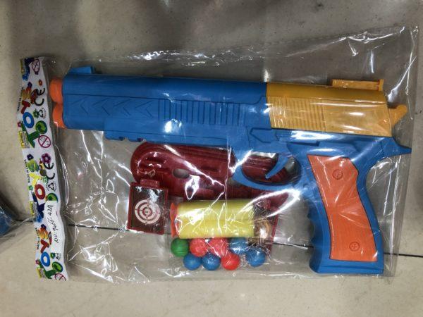 Пистолет-трещотка с пульками оптом