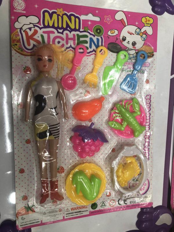 Игровой набор «Маленькая кухня» с куклой оптом
