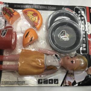 Игрушечный набор «Выпечка» с куклой оптом