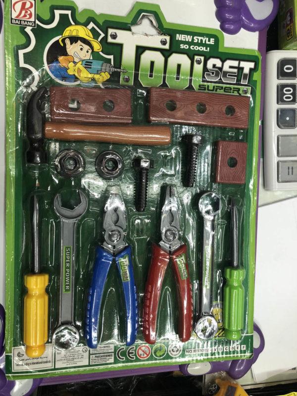 Набор детских инструментов «Прикрути сам» (14 предметов) оптом