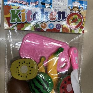 Игрушечный набор еды «Фрукты» оптом