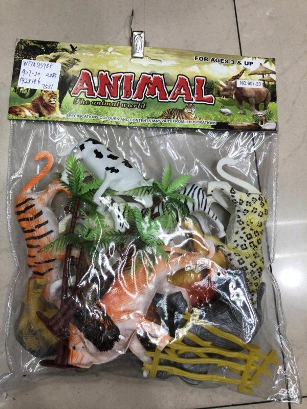 Игрушечный набор «Мир диких животных» оптом