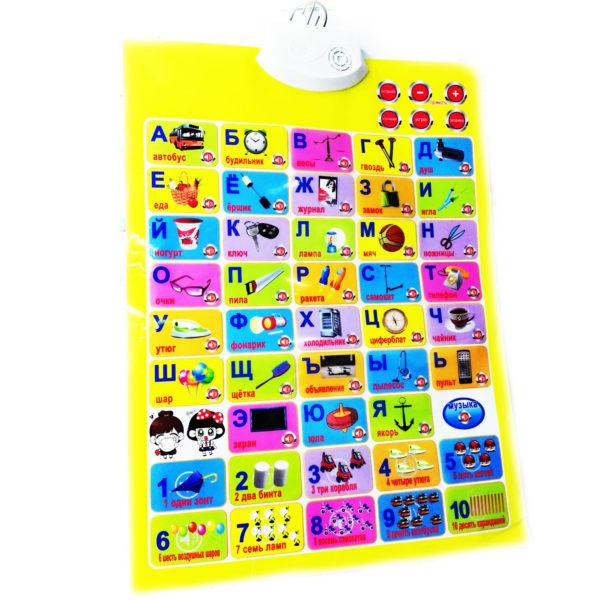 Электронный плакат «Говорящая азбука» оптом