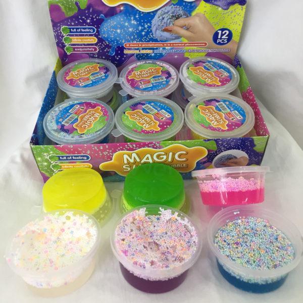 Жвачка для рук «Magic Slime» с пузырьками