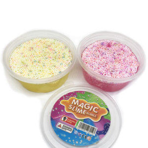 Жвачка для рук «Magic Slime» с пузырьками оптом