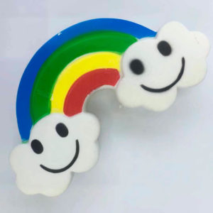 Резиновая игрушка «Мяч» на веревке 7003-0057 оптом
