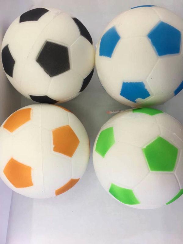 Резиновая игрушка «Мяч» на веревке 7003-0065 оптом