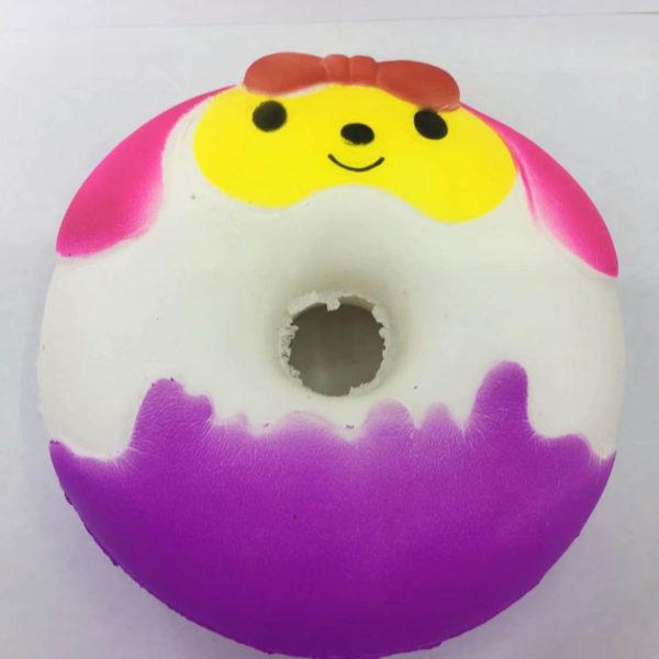 Резиновая игрушка «Мяч» на веревке 7003-0070 оптом