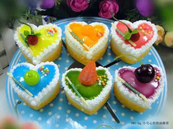 Сквиш «Пирожное сердце» 7003-0145 оптом