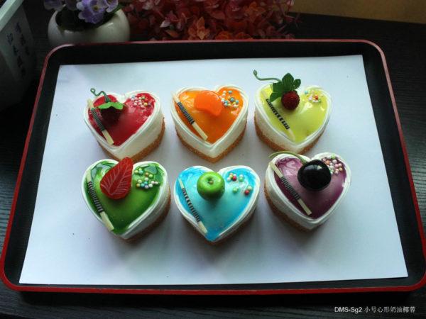 Сквиш «Пирожное сердце» 7003-0146 оптом