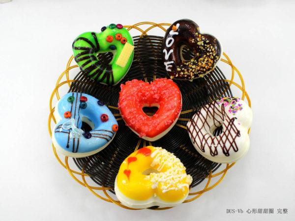 Сквиш «Пончик-сердце» 7003-0163 оптом