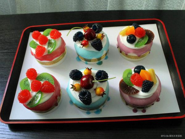 Сквиш «Пирожное с ягодами» 7003-0166 оптом