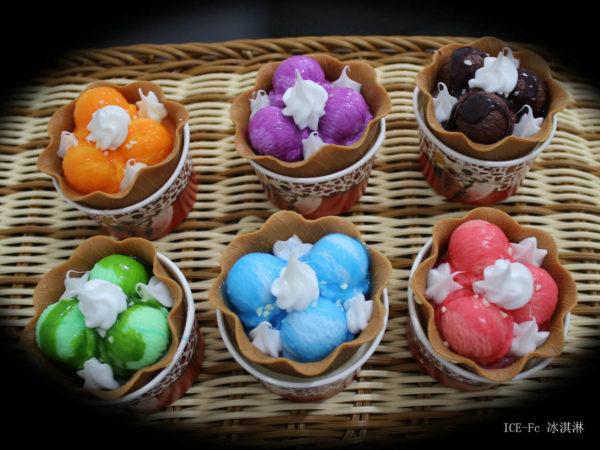 Сквиш «Мороженое в стаканчике» 7003-0184 оптом