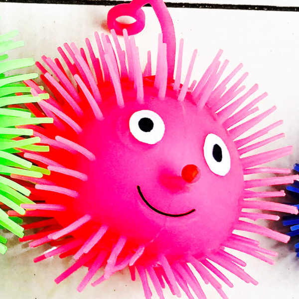 Резиновая игрушка «Ёжик» 7005-0031 оптом