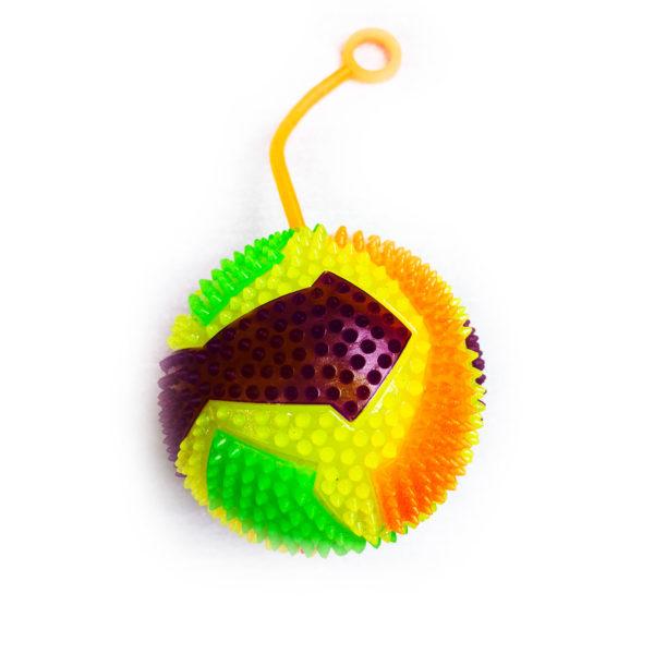 Резиновая игрушка «Мяч» на веревке 7005-0060 оптом