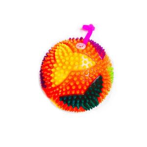 Резиновая игрушка «Мяч» на веревке 7005-0085 оптом